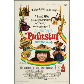 Pufnstuf 1970 Original U.S. One Sheet Poster Folded 27 x