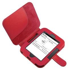 Leaher Case/ Screen Proecor for Barnes & Noble Nook Simple ouch