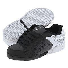 DVS Shoe Company Contra Black/White Skull
