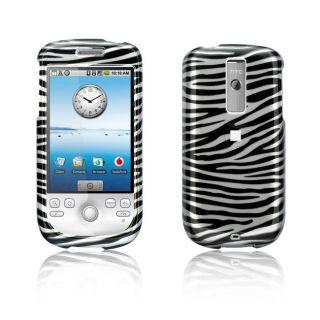 HTC MyTouch G3 Silver Zebra Design Crystal Case