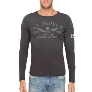 LEGEND&SOUL T Shirt Homme Anthracite Anthracite   Achat / Vente T