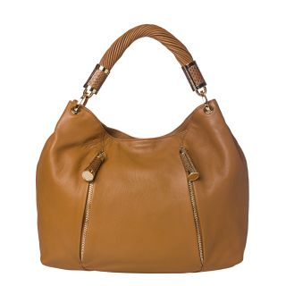 Michael Kors Tonne Tan Leather Hobo Bag
