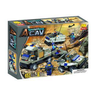 Fun Blocks Special Forces Military Brick Set A (451 pieces