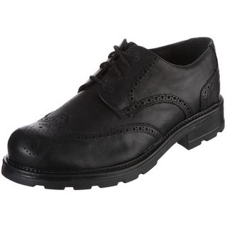 GBX Mens Black Lace up Oxfords