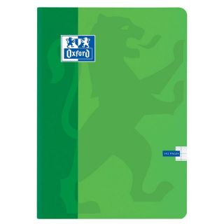 192 pages 21x29.7 cm VERT   Achat / Vente CAHIER OXFORD Cahier 192