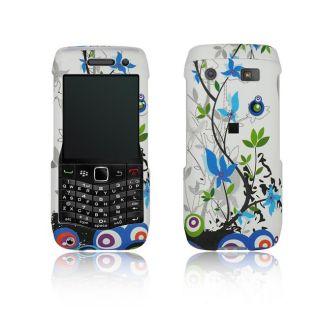 Spring Flower BlackBerry Pearl 9100 Rubberized Case