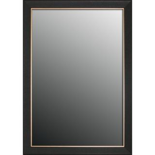 Etched Black Walnut Pattern Gold Trim Mirror (22x58) Today $167.99
