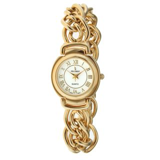 Peugeot Womens Gold Chain Link Watch