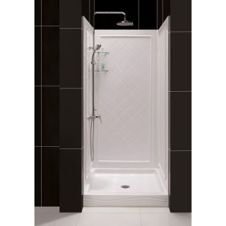 DreamLine 30 40 in W Qwall Back Wall Shower Kit Today $454.99