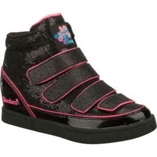 Girls Skechers Hydee Plus 2 4 Upz Black/Pink