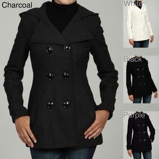 Miss Sixty Womens Double breasted Wool Coat FINAL SALE