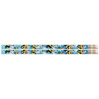 D2331 Busy Bee   144 Cute Bees Pencils