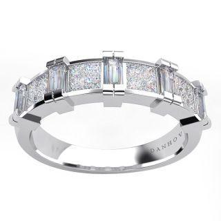 Danhov Platinum 1ct TDW Diamond Wedding Band (G, SI1)