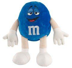 Blue M&M Small Plush Character Doll Toys & Games