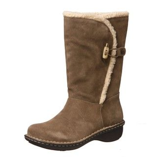 AK Anne Klein Womens Kresent Toggle Boots FINAL SALE