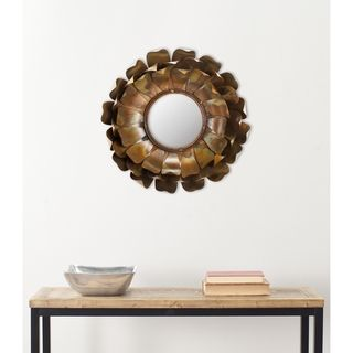 Handmade Ars and Crafs Blossoms Peal Wall Mirror