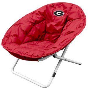 Georgia Bulldogs Sphere Chair: Sports & Outdoors