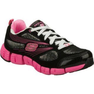 Girls Skechers Stride Black/Pink