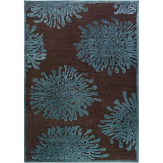 Serpentine Blue Floral Rug (22 x 3) Today $34.49 Sale $31.04 Save