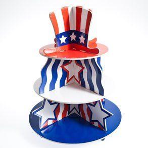 Patriotic Cupcake Holder Toys & Games