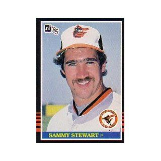 1985 Donruss #148 Sammy Stewart: Collectibles