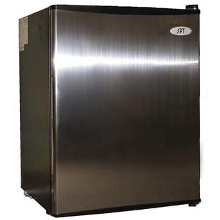 Stainless Steel 2.5 cubic foot Energy Star Compact Refrigerator