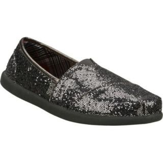 Womens Skechers Bobs World Earth Papa Gunmetal