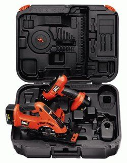 Black & Decker CSD144K 2 Firestorm 14.4 Volt Drill/Saw Cordless Combo