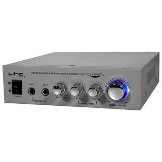 Amplificateur pour Karaoké 220 V ou 12 V Silver   Puissance Max  2