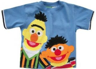 Sesame Street Ernie & Bert Homespun Light Blue T Shirt
