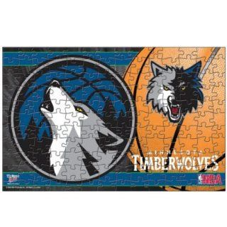 TIMBERWOLVES OFFICIAL LOGO 150 PIECE JIGSAW PUZZLE Sports & Outdoors