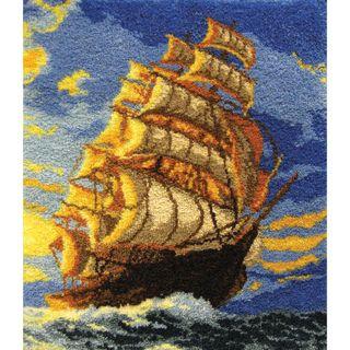Latch Hook Kit  Clipper Ship