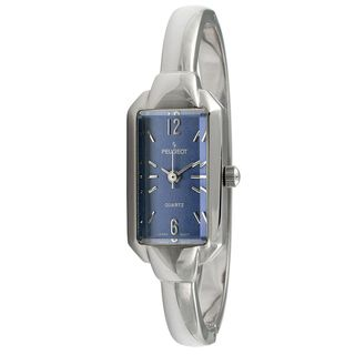 Peugeot Womens Vintage Blue Dial Bangle Watch
