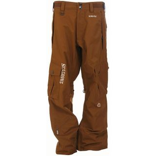 Sessions Rocket Mens Sergeant Brown Snowboard Pants