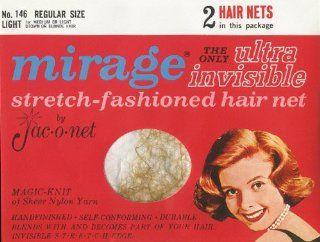 Hair Net Regular Size * Light * No. 146 * 2 Nets Per Package Beauty