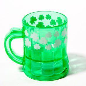 Mini Plastic Shamrock Mugs Toys & Games