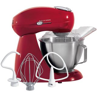 Hamilton Beach Carmine Red All metal Stand Mixer