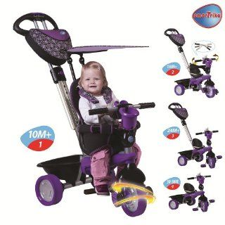 Smart Trike 4 in 1 Dream Trike   Purple Sports & Outdoors
