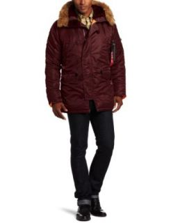 Alpha Industries Mens N 3B Slim Fit Water Repellent Parka
