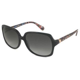 Diane Von Furstenberg Womens DVF521S Rectangular Sunglasses