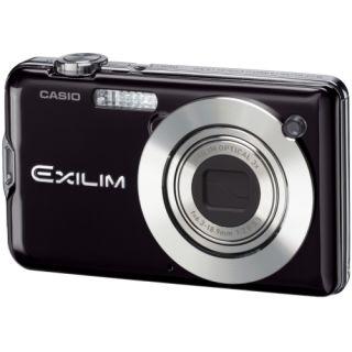 Casio Exilim EX S12 Point & Shoot Black Digital Camera