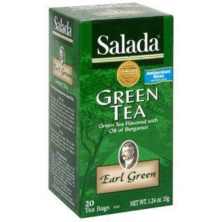 Salada Earl Green Tea, 20 Count Box (Pack of 6) Grocery