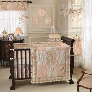 Little Princess 6 Piece Baby Crib Bedding Set with Bumper