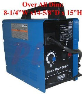 55 90 AMP Flux Wire Arc Mig Welder Welding Soldering Machine