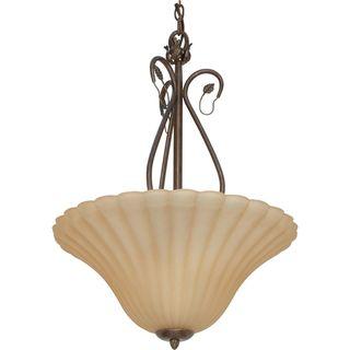 Nuvo Vine 3 light Sonoma Bronze Pendant