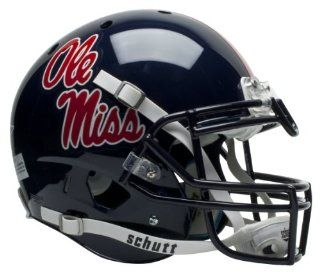 OLE MISS REBELS Schutt AiR XP AUTHENTIC Football Helmet