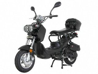 Sunny Powersports MC D150L BLACK Gas Ruckus 150cc Moped