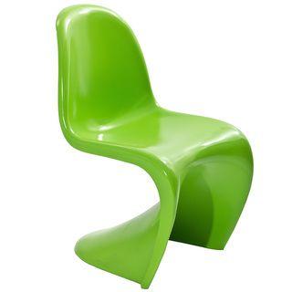 Verner Panton Style Green Chair