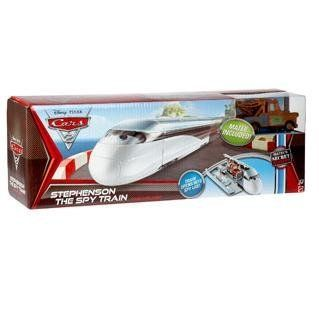 The Spy Train Includes 155 Scale Mater Vehicle Toys & Games