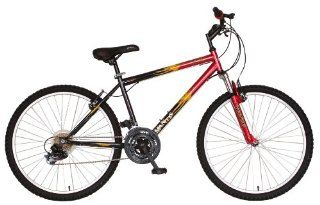 Mantis Raptor Mens 26  Inch Bike, Red/Black Sports